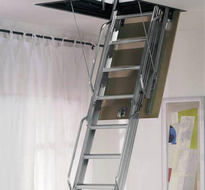 πτυσσόμενες σκάλες οροφής
